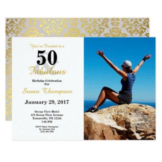 50 et cinquantième invitation fabuleuse