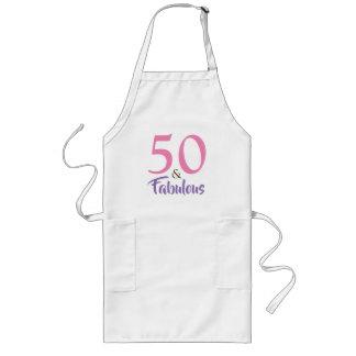 50 et cinquantième tablier fabuleux de fête
