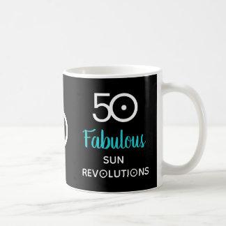 50 et cinquantième tasse fabuleuse de cadeau