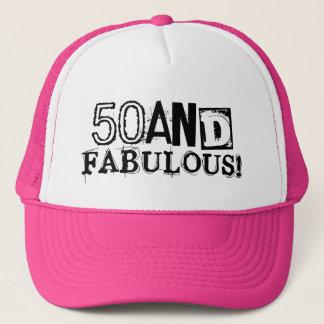 50 et style vintage fabuleux du casquette |