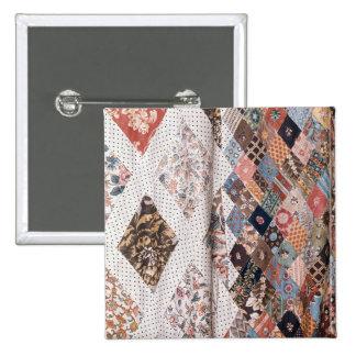 53 : Détail d'un édredon de patchwork fait par Mme Pin's