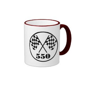 550 drapeaux Checkered Mug Ringer