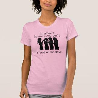 58192, Bachelorette PartyFriend de Kristina de t… T-shirt