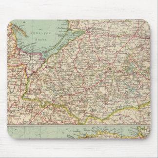58 Prusse est, pays Baltes Tapis De Souris