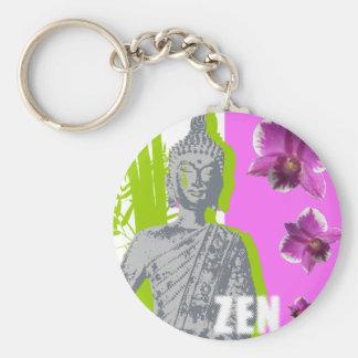 5,7cm Porte-clé basique ZEN