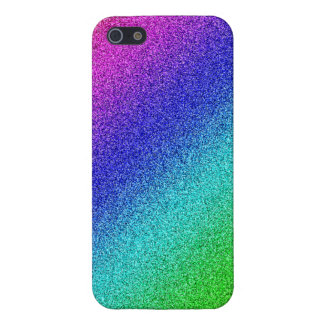 5 brillamment finition gaine arcs-en-ciel iPhone s Coque iPhone 5