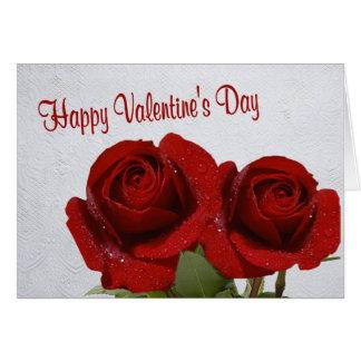 5. Le bonheur est Valentine marié #2 Carte De Vœux