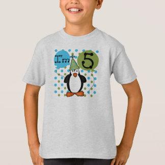 5ème Anniversaire de pingouin T-shirt