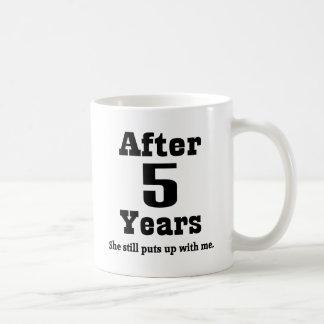 5ème Anniversaire (drôle) Mug