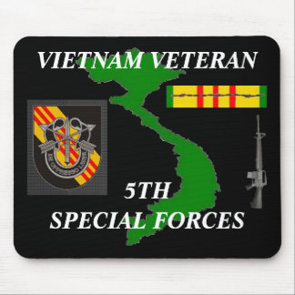 5ème Forces spéciales Vietnam Mousepad 2/b Tapis De Souris