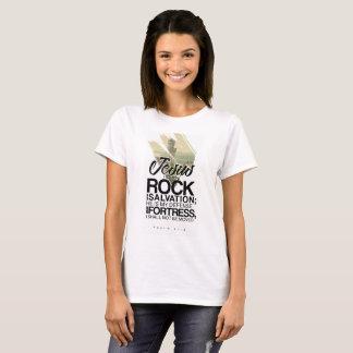 62:6 de psaume - Jésus est ma roche T-shirt
