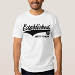 62 établis - Chemise d'anniversaire T-shirts