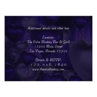 6 5 x 8 75 invitation personnalisable de coeur d