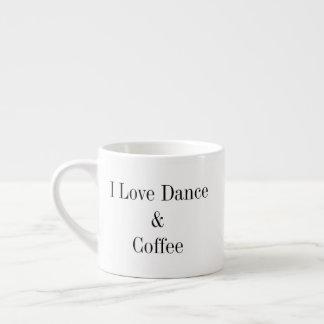 6 onces. Tasse de café express - danse et café