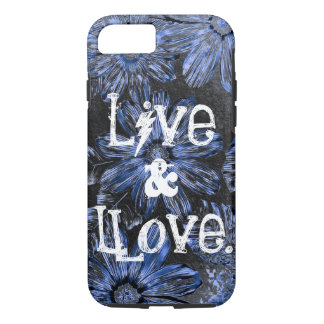 #6 vivants - iPhone 7 d'Apple - cas dur de Coque iPhone 7