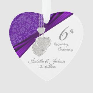 6ème Souvenir d'anniversaire de mariage