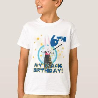 6èmes T-shirts et cadeaux d'anniversaire de magie