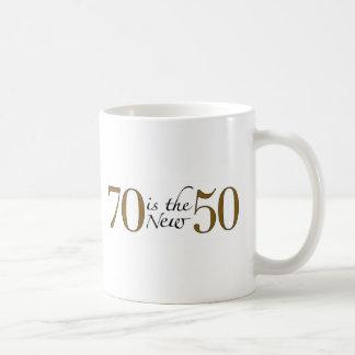 70 est les nouveaux 50 mug