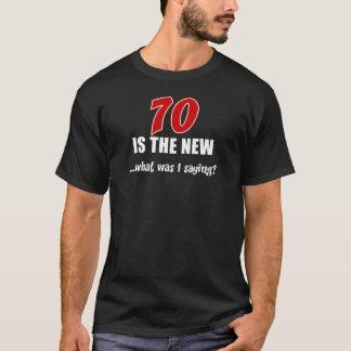 70 le nouveau - queest-ce que j'étais dit ? t-shirt
