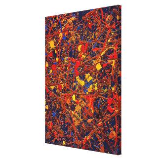 #725 abstrait toiles