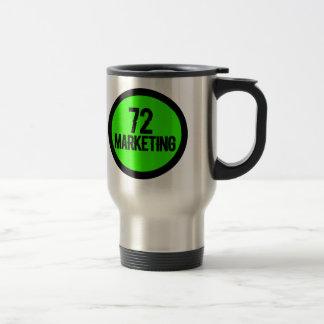 72 tasses isolées de commercialisation de tasse