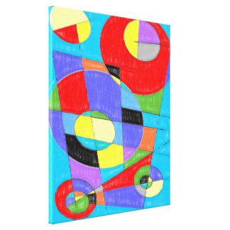 #750 abstrait toiles