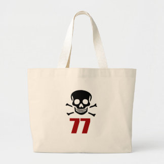 77 conceptions d'anniversaire grand tote bag
