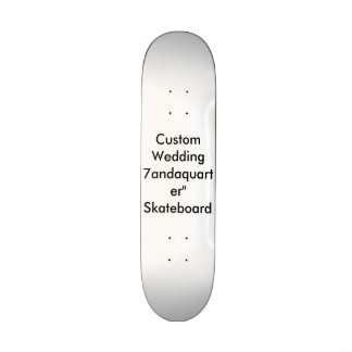 7andaquarter l épousant fait sur commande planche skateboards personnalisables