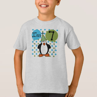 7ème Anniversaire de pingouin T-shirts