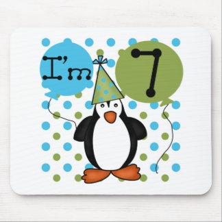 7ème Anniversaire de pingouin Tapis De Souris