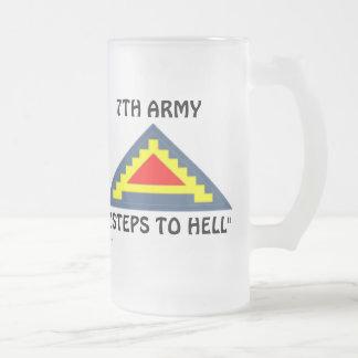 7ème Armée frm/1 Frosted Glass Beer Mug