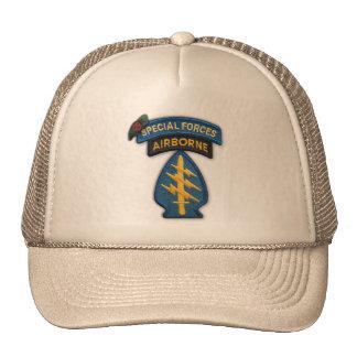 7ème chapeau de vétérinaires de vétérans de groupe casquettes de camionneur