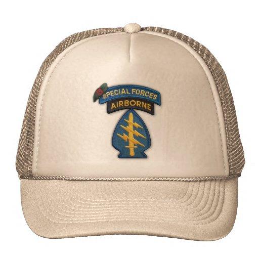 7ème chapeau de vétérinaires de vétérans de groupe casquette de camionneur