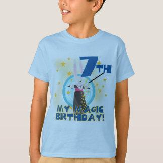 7èmes T-shirts et cadeaux d'anniversaire de magie