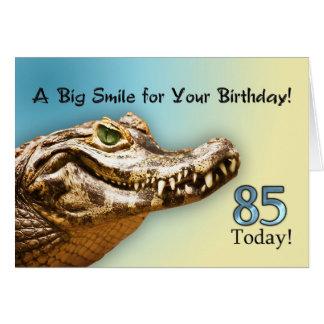 85th Carte d'anniversaire