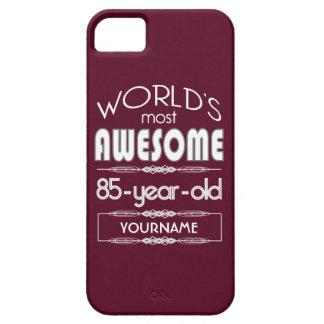 85th D'anniversaire des mondes rouge foncé Étui iPhone 5