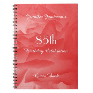 85th Le livre d'invité de fête d'anniversaire,