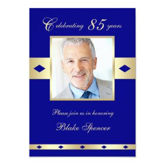 85th Marine 85 d'invitation de fête d'anniversaire Carton D'invitation 12,7 Cm X 17,78 Cm