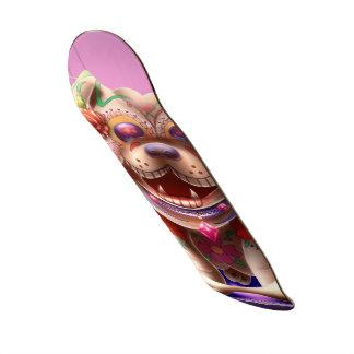 8 1 8 rubis de planche à roulettes de plateau de skate
