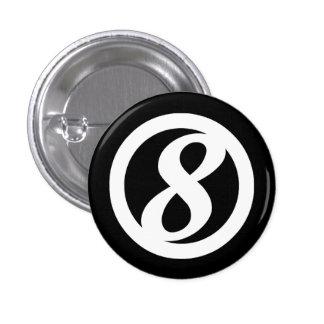 8ème Bouton de cercle Badges