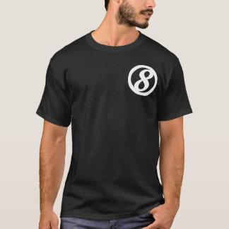 8ème Chemise dominante de personnel de cercle T-shirt
