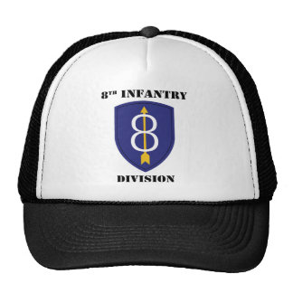 8ème Division d'infanterie avec le texte Casquette De Camionneur