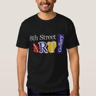 8ème Logo de galerie d'art de rue T-shirts