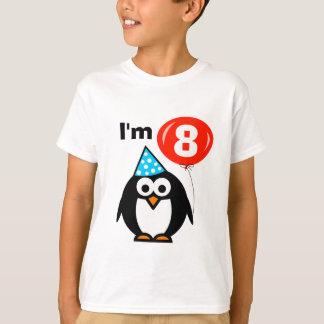 8ème pingouin de la chemise | d'anniversaire t-shirt