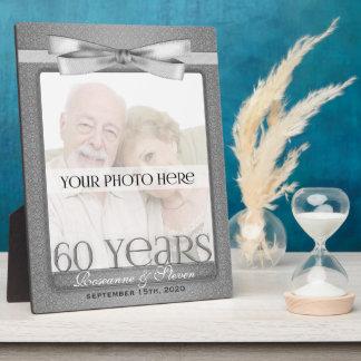 8x10 cadre de photo d'anniversaire de mariage du d plaque d'affichage
