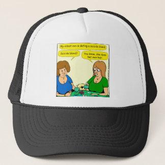 909 colorants blonds de suicide sa propre bande casquette