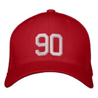 90 quatre-vingt-dix casquette brodée