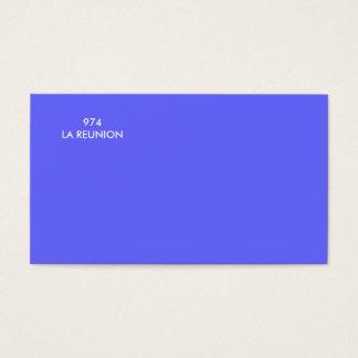974LA REUNION CARTES DE VISITE