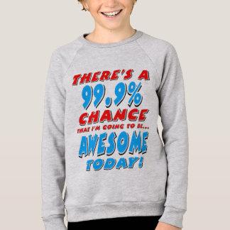 99,9% ALLER ÊTRE IMPRESSIONNANT (noir) Sweatshirt
