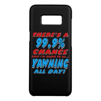 99,9% BAÎLLEMENT TOUTE LA JOURNÉE (blanc) Coque Case-Mate Samsung Galaxy S8